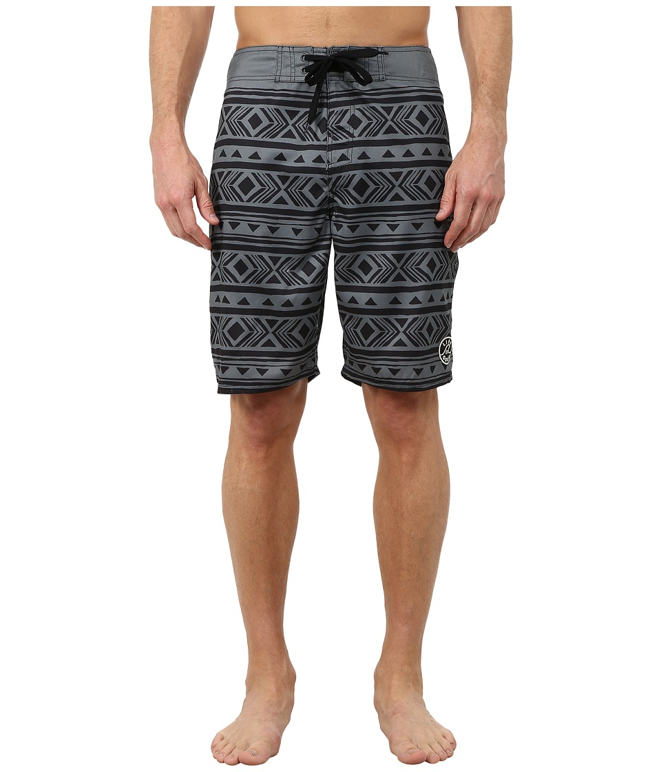 Life is good Bold Coast Boardshorts Stormy Gray Mens Swimwear