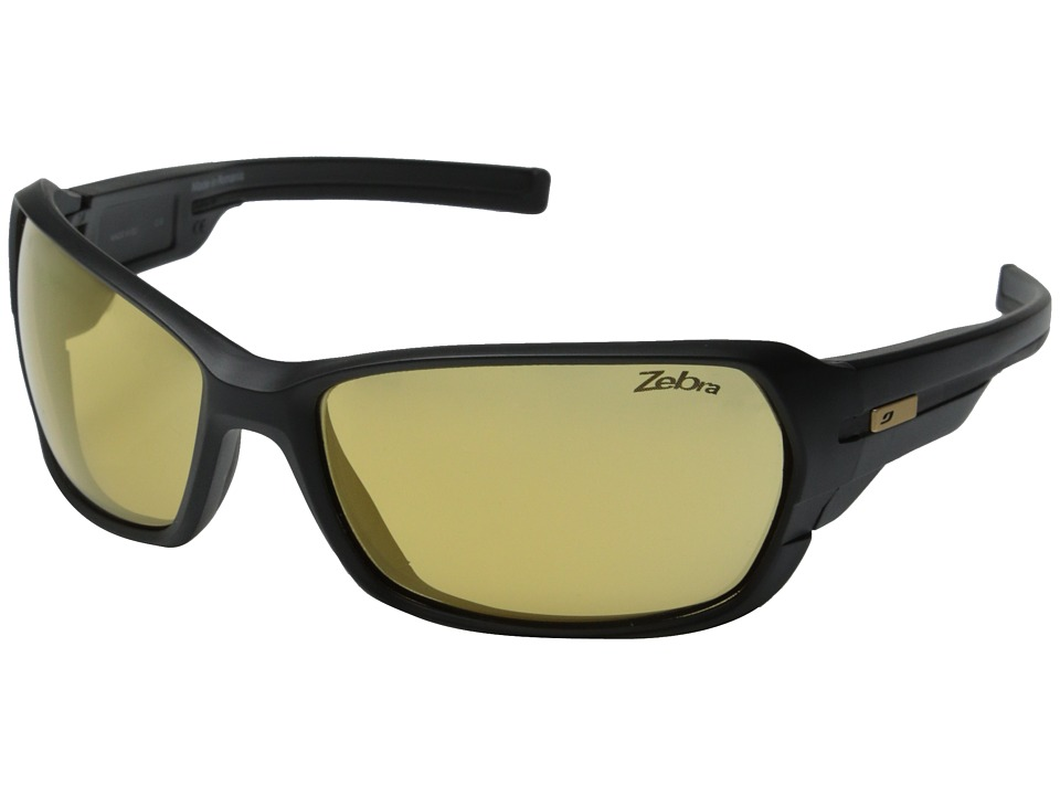 Julbo Eyewear Dirt 2.0 Performance Sunglasses Matte Black/Black 1 Sport Sunglasses