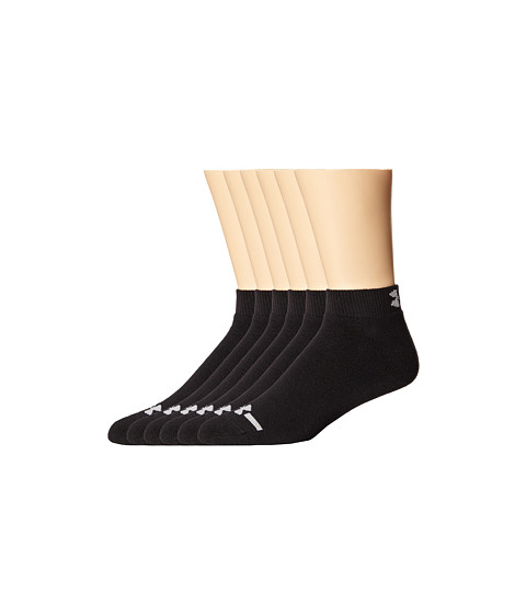 Under Armour UA Charged Cotton Lo Cut - Black