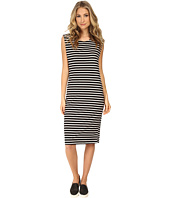 MINKPINK - Stripe Chief Value Of Cotton Midi Dress