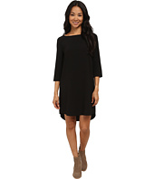 BB Dakota - Devin Long Sleeve Crepe Shift Dress