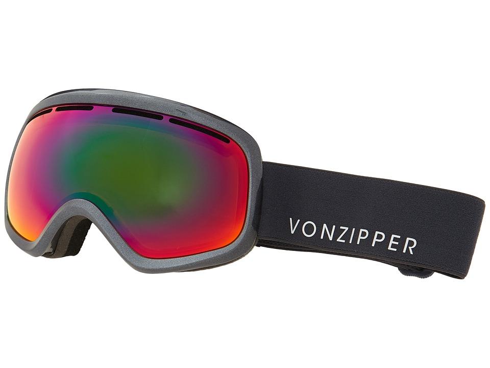 VonZipper Skylab Charcoal Metallic/Trudef Snow Goggles