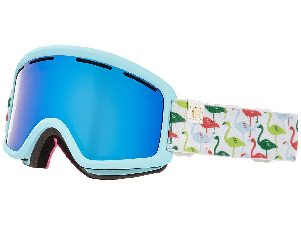 VonZipper Beefy Spoonbill Blue/Sky Chrome Snow Goggles