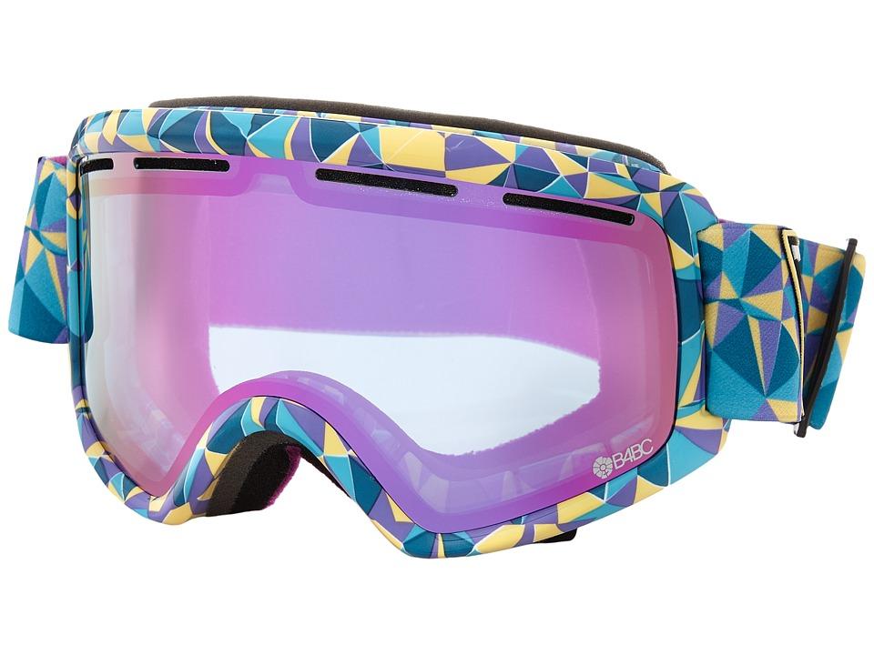 VonZipper Beefy B4BC/Meteor Chrome Snow Goggles