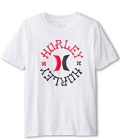 Hurley Kids - Charge Short Sleeve Tee (Big Kids)