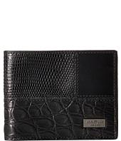 Salvatore Ferragamo - 660220 Tris Croc Bifold Wallet