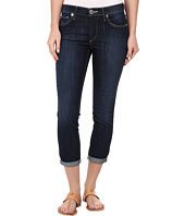 True Religion - Halle Mid Rise Super Skinny Crop Rolled in Lonestar