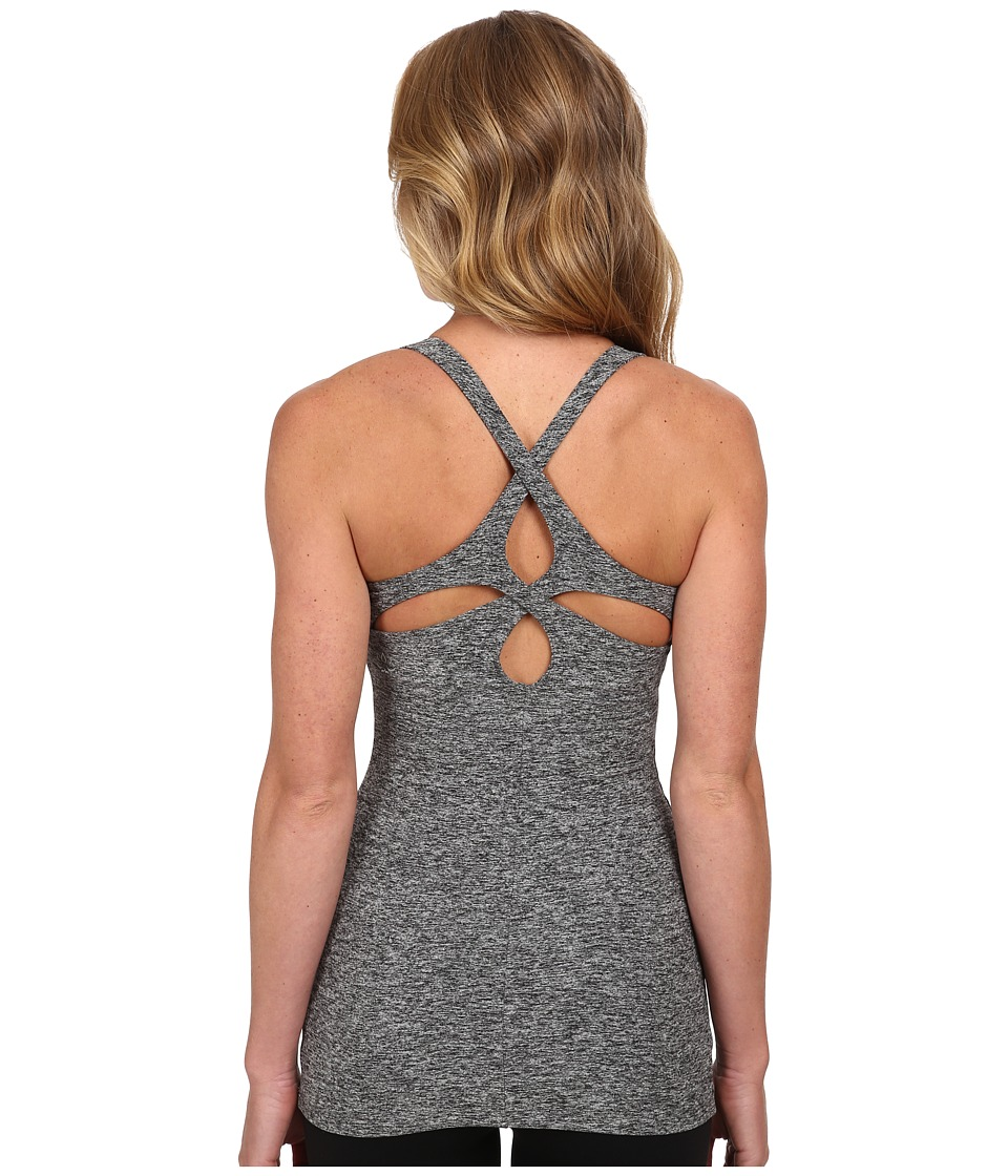 Beyond Yoga Cutout Cami Black Spacedye Womens Sleeveless