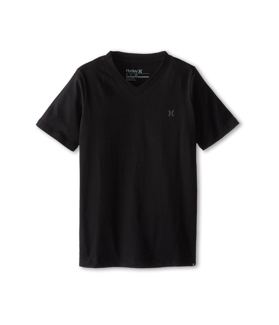 Hurley Kids Staple Tee Big Kids Black Boys T Shirt