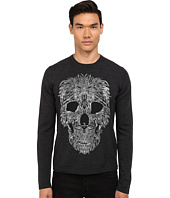 Just Cavalli - Long Sleeve Crew Neck Skull Design Sweater