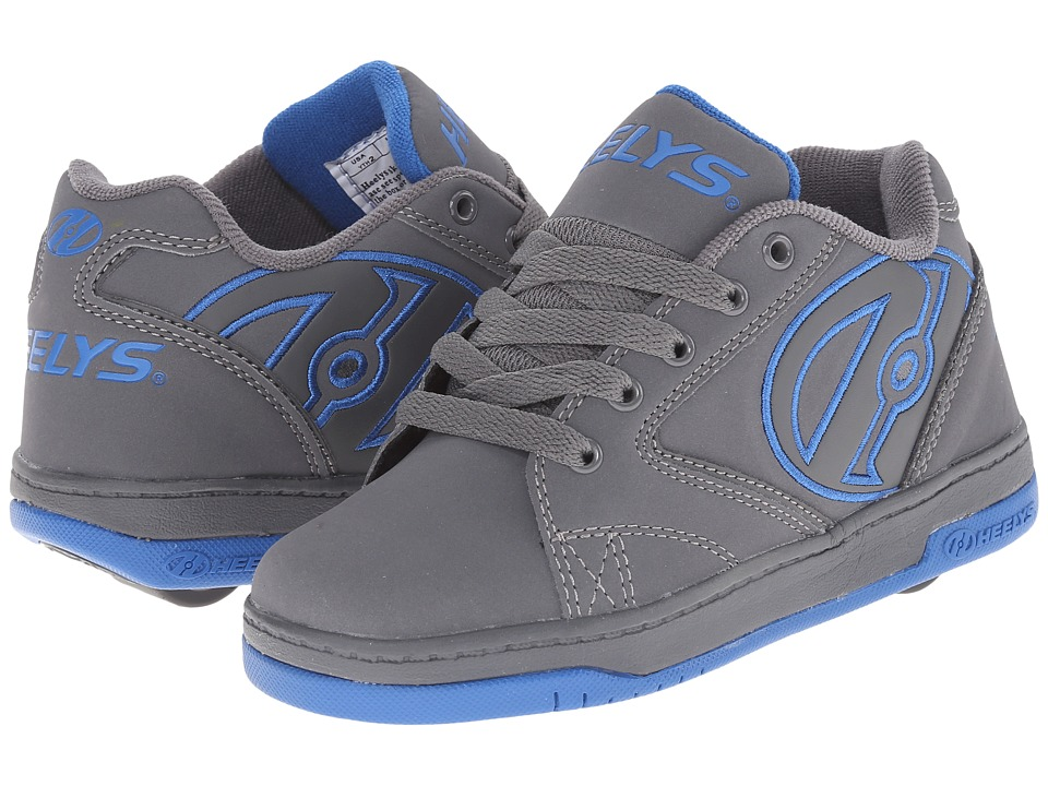 Heelys Propel 2.0 Little Kid/Big Kid/Adult Grey/Royal Boys Shoes