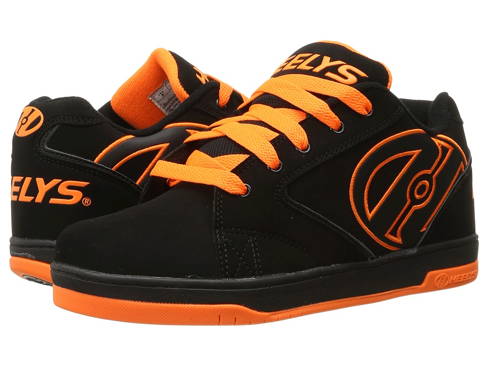 Heelys Propel 2.0 (Black/Orange) Boys Shoes