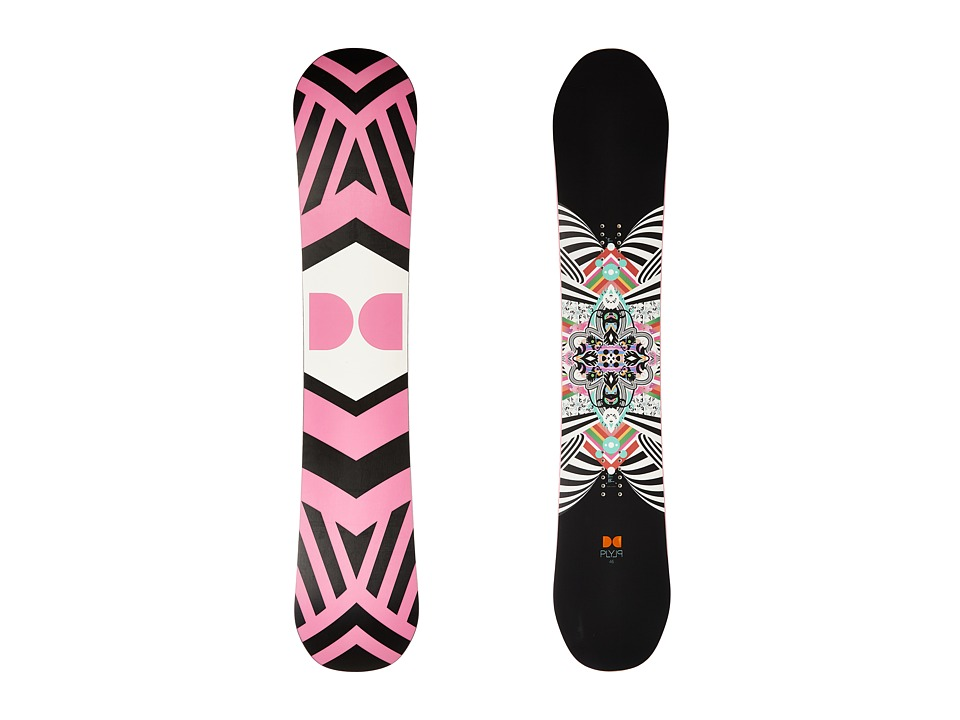 DC W. Ply '16 146cm (Multi) Snowboards Sports Equipment