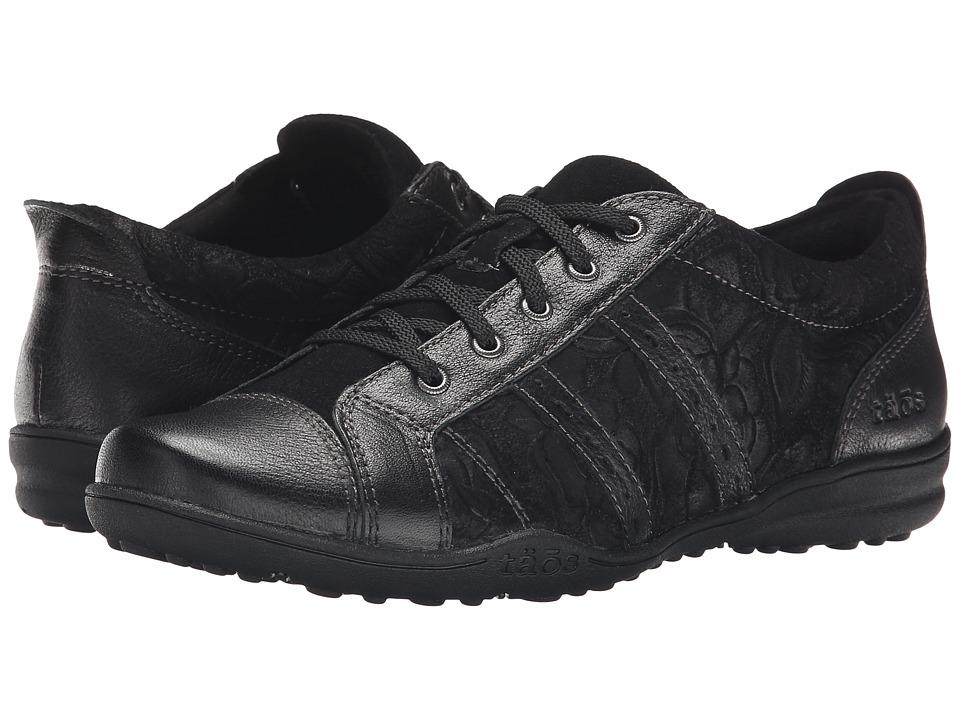taos Footwear Streamline Black Womens Shoes
