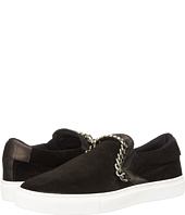 Just Cavalli - Suede Slide w/ Chain Detail