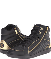 Just Cavalli - Quilted Nappa/Metallic Leather High Top