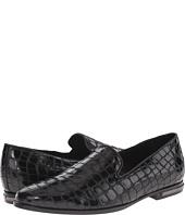 Just Cavalli - Croc Embossed Leather Smoking Shoe