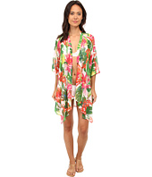 Tommy Bahama - White Tropical Kimono Cover-Up