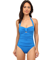 Tommy Bahama - Pearl Halter One-Piece w/ Center Tab