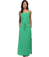 Tommy Bahama - Rayon Maxi Dress w/ Elastic Waist Band Cover-Up