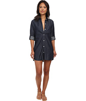 Tommy Bahama - Chambray Boyfriend Shirt Cover-Up