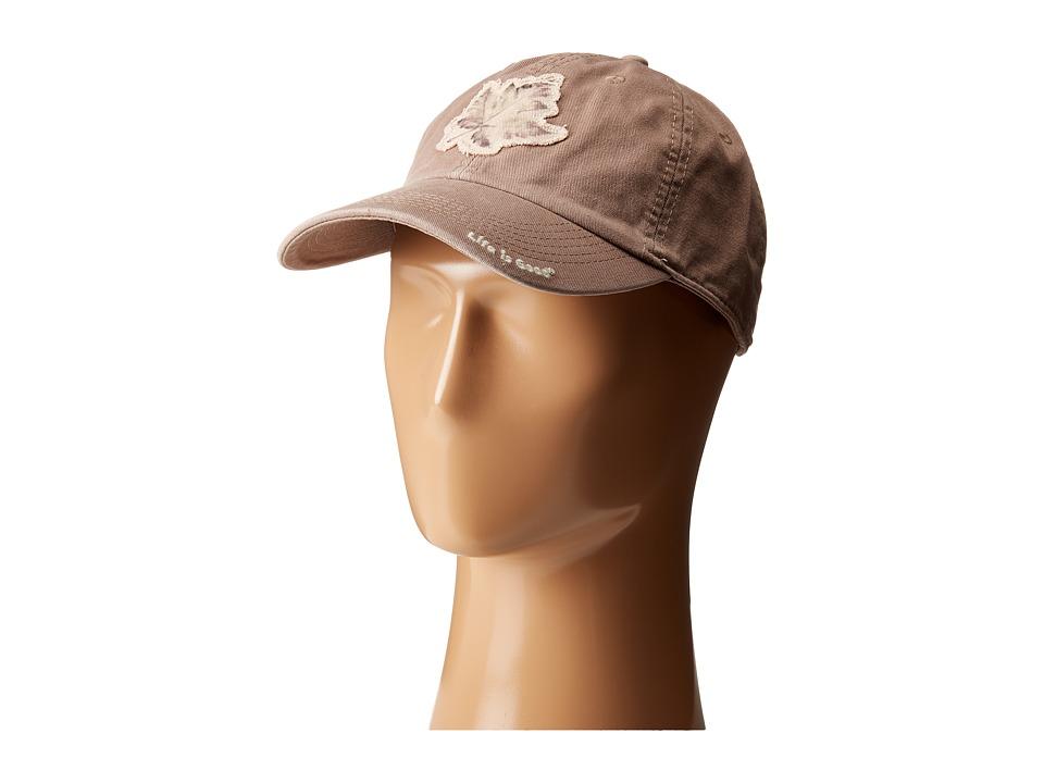 Life is good Tattered Chill Cap Mocha Brown Baseball Caps