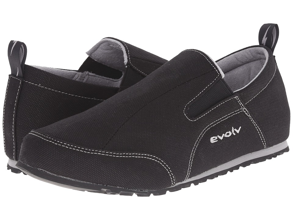 EVOLV Cruzer Slip On Black Climbing Shoes