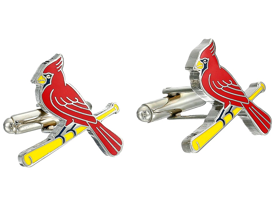 Cufflinks Inc. St. Louis Cardinals Cufflinks Red Cuff Links