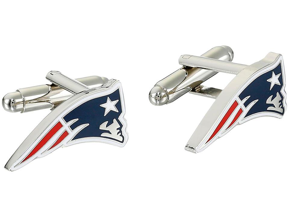 Cufflinks Inc. New England Patriots Cufflinks Blue Cuff Links