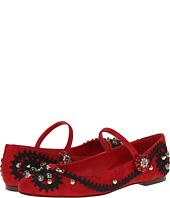 Dolce & Gabbana - Embellished Ballet Flat