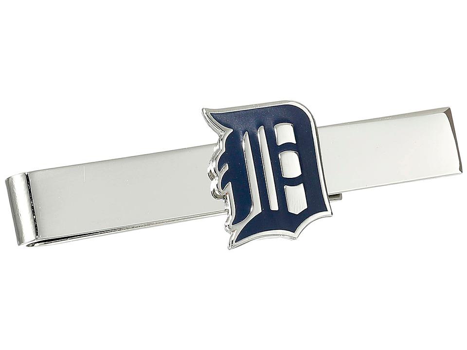 Cufflinks Inc. Detroit Tigers Tie Bar Blue Cuff Links
