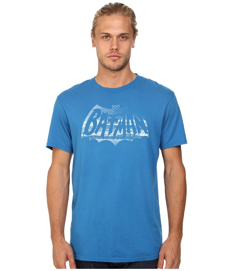 KINETIX Batman Beach Premium Tee Blue Mens T Shirt