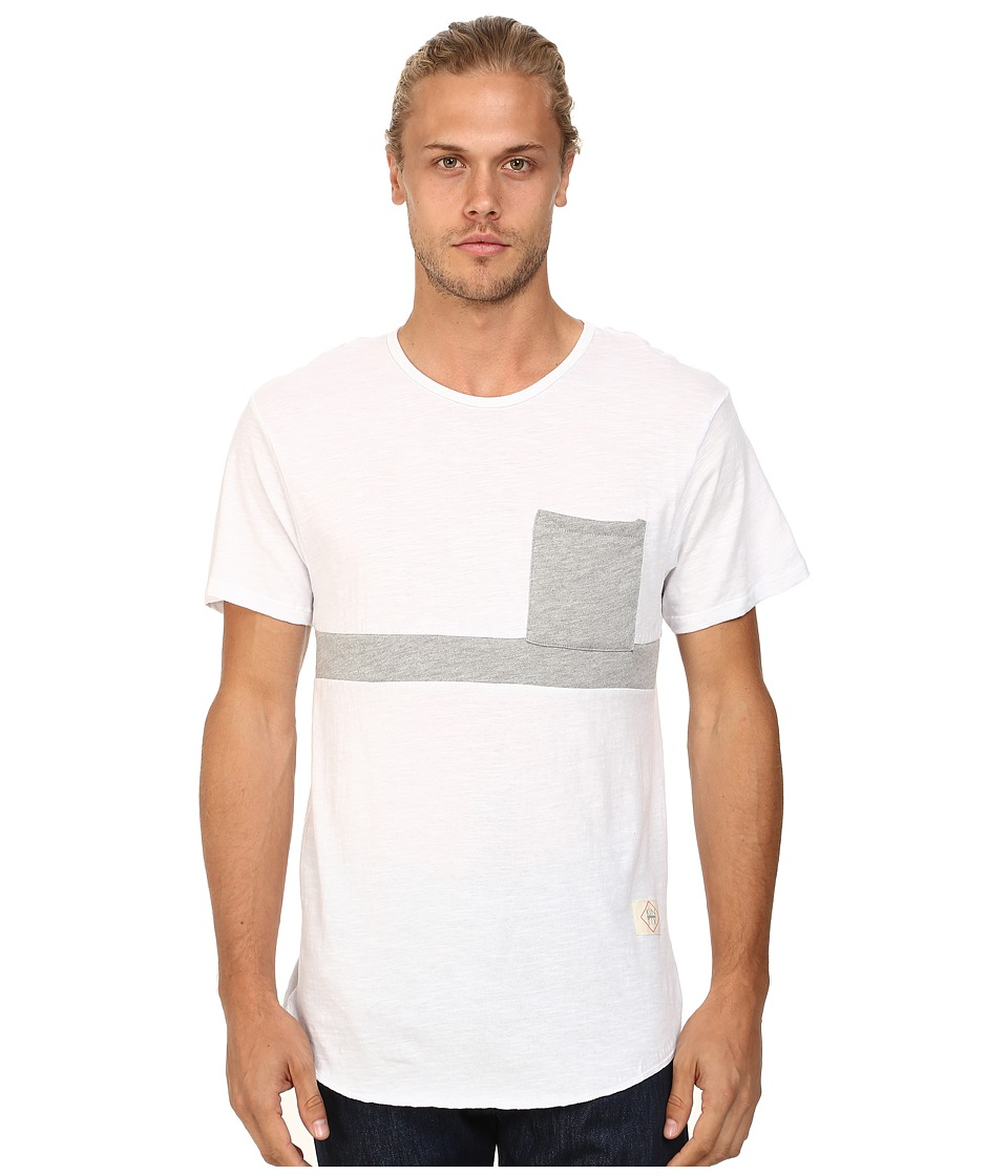 KINETIX Buenos Aires Premium Tee White Mens T Shirt
