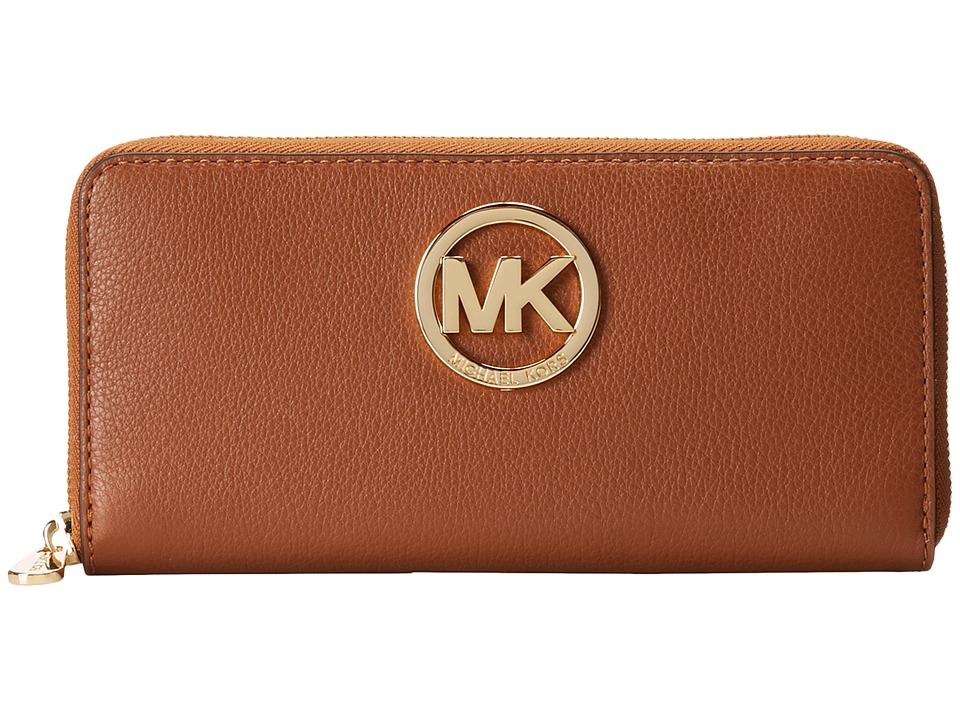 MICHAEL Michael Kors - Fulton Za Continental (Luggage) Continental Wallet