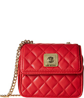 LOVE Moschino - I Love Superquilted Mini Flap Bag