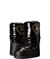 LOVE Moschino - Patent Moon City Snow Boots