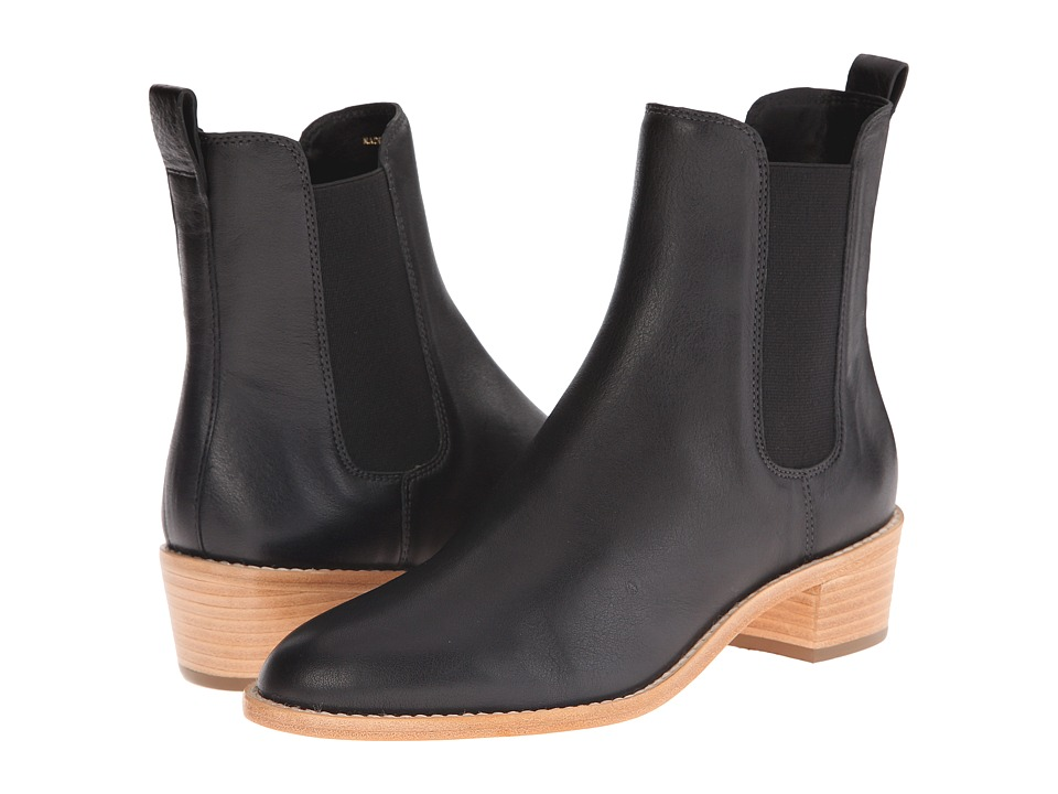 Loeffler Randall Carmen Black Womens Pull on Boots