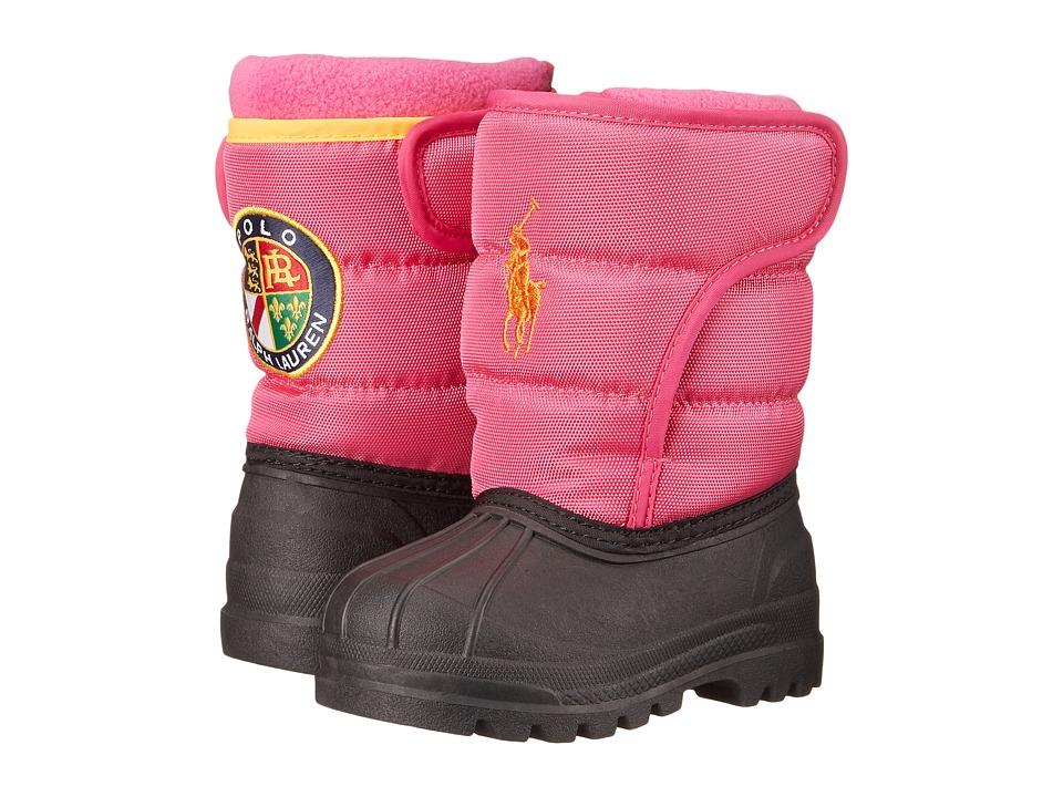 Polo Ralph Lauren Kids Hamilten EZ Toddler Pink Nylon/Orange Kids Shoes