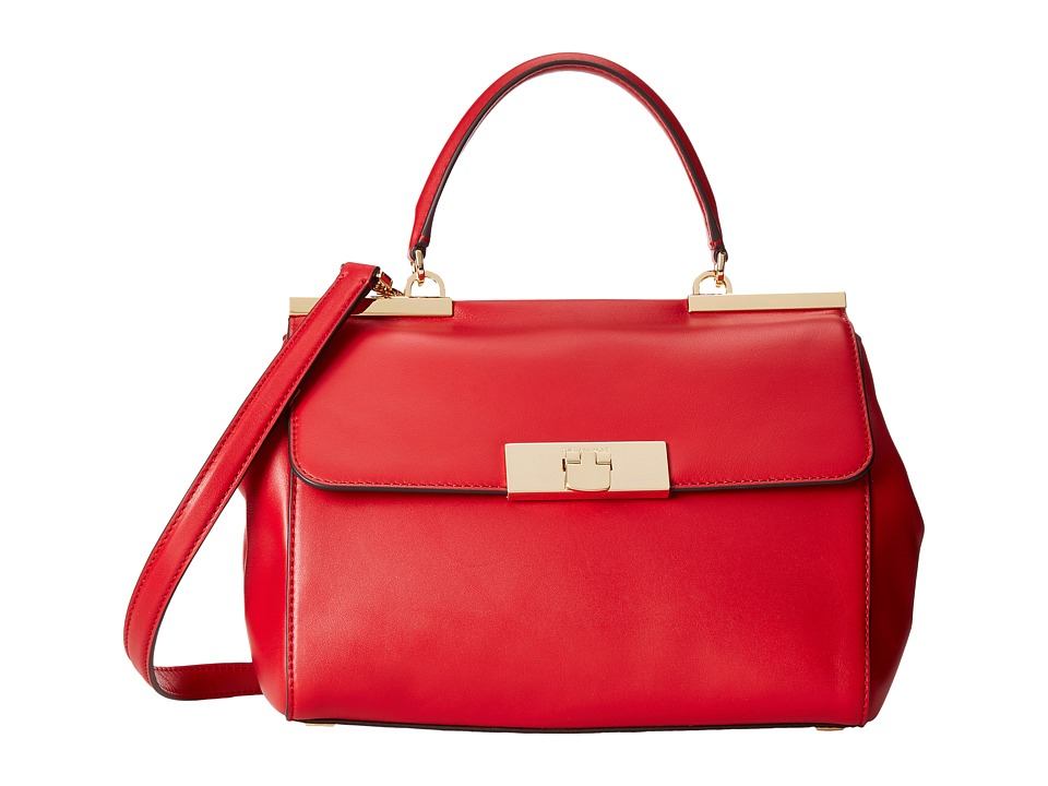 MICHAEL Michael Kors - Marlow Medium Satchel (Chili) Satchel Handbags