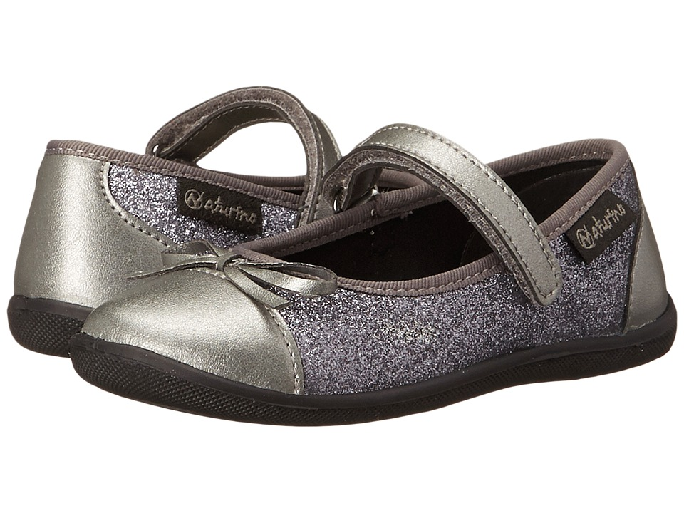 Naturino Nat. 8063 Toddler/Little Kid Silver Girls Shoes