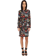 LOVE Moschino - Printed Silk Dress