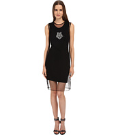 LOVE Moschino - Tank Dress w/ Sheer Overlay