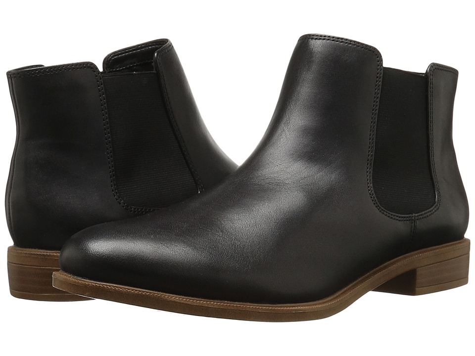 Clarks - Taylor Shine (Black Leather) Women