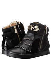 Just Cavalli - Hightop w/ Logo Letters and Fringe