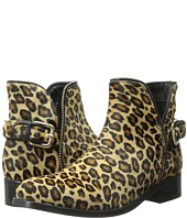 Just Cavalli - Leopard Pony Hair Ankle Boot