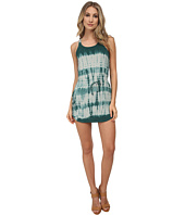 Chaser - Tie-Dyed Strappy Back Shirttail Mini Dress