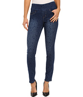 Jag Jeans - Lanna Pull-On Slim Patterned Denim in Paisley Indigo