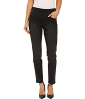 Jag Jeans - Lanna Pull-On Slim Patterned Denim in Houndstooth Black