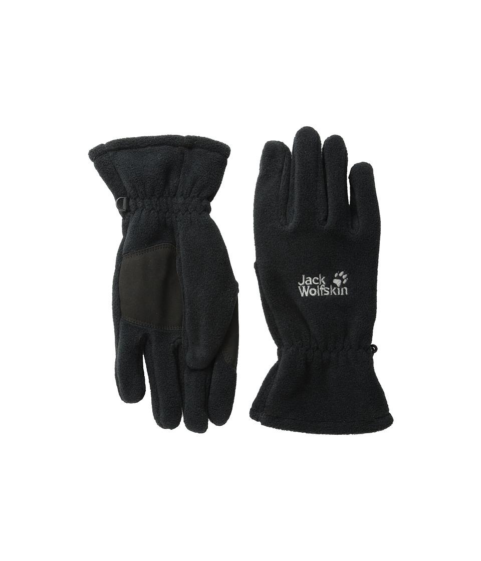 Jack Wolfskin Artist Glove (Black) Extreme Cold Weather Gloves