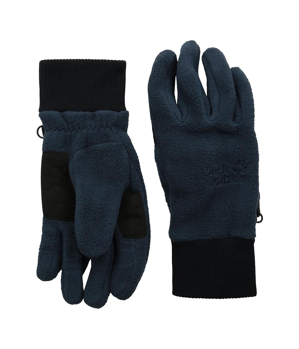Jack Wolfskin Vertigo Glove (Night Blue) Extreme Cold Weather Gloves
